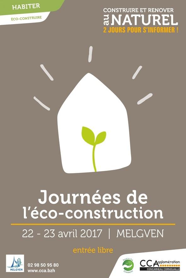 Les Journées de l'Ecoconstruction à Melgven 2017